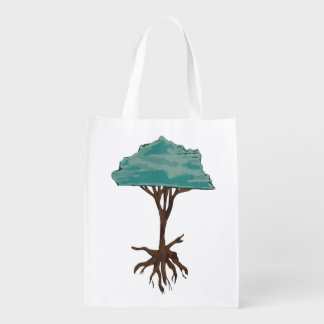 Floating Tree Reusable Grocery Bag
