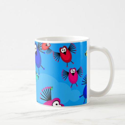 Flock of Birds Basic White Mug
