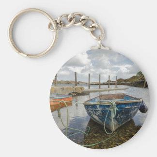 Flodabay, Isle of Harris Basic Round Button Key Ring
