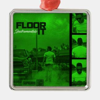 Floor It Instrumentals Cover Christmas Ornament