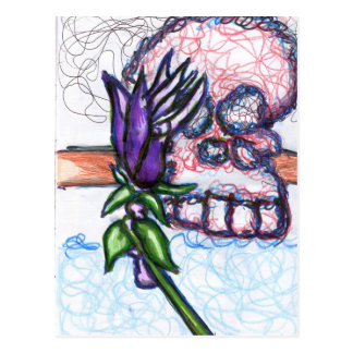 Flora De  La Muerto Postcard