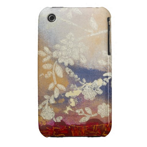 Flora Iphone 3 Barely There Case iPhone 3 Case
