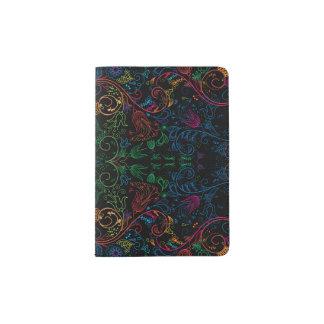 Floradore - Black Passport Holder