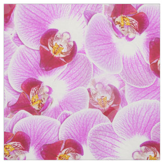 Floral Abstract BG Radiant Orchid Nature Photo Fabric