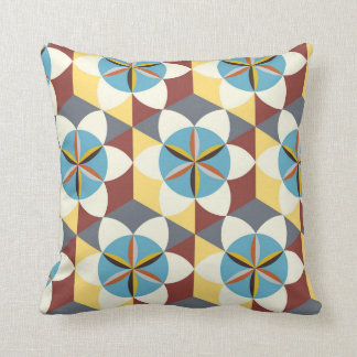 Floral abstract pattern cushion