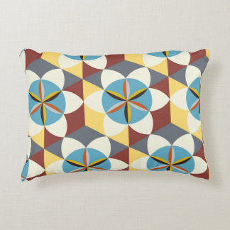 Floral abstract pattern decorative cushion