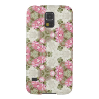 Floral Abstract Vintage Inspired Botanical Pattern Galaxy S5 Case