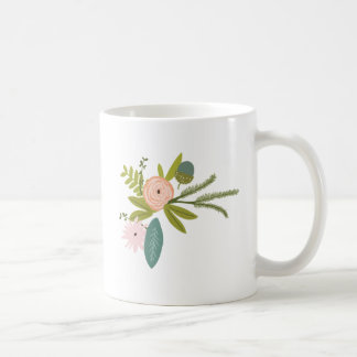Floral and Fauna Coffee Mug