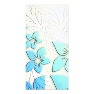 Floral Art Picture Card