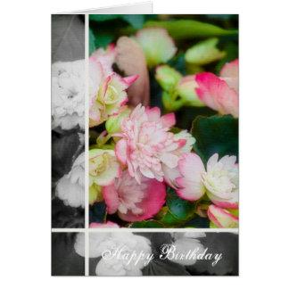Floral - Begonia Card