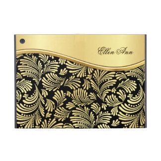 Floral Black Gold Folio iPad Mini iPad Mini Case