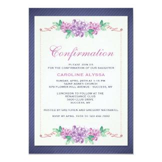 Floral Borders Invitation