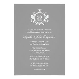 Floral Charm Anniversary or Birthday Invitation -