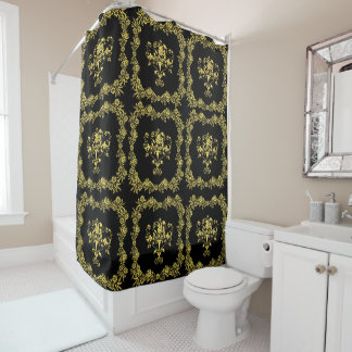 Floral Classic Shower Curtain