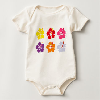 Floral Collection Baby Bodysuit