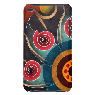 Floral Color Abstract Vector Art iPod Touch Barely There iPod Covers
