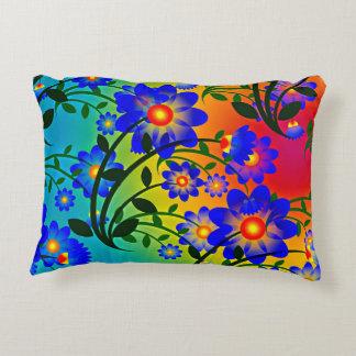 floral decor pillow accent cushion