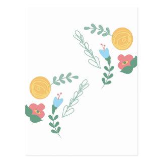 Floral Decor Postcard