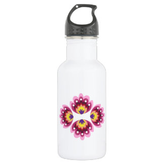 Floral Decoration 532 Ml Water Bottle
