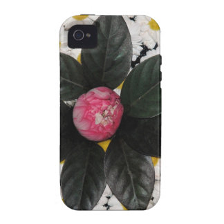 Floral decoration vibe iPhone 4 cover