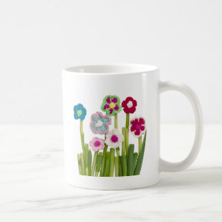 floral decoration coffee mug