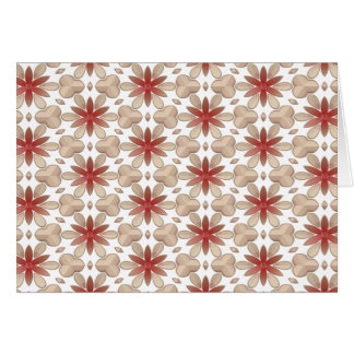 Floral Decoration. Floral Fabric Texture Pattern Card