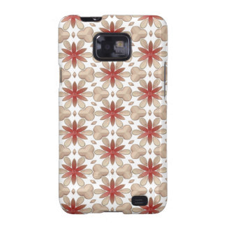 Floral Decoration. Floral Fabric Texture Pattern Samsung Galaxy SII Case