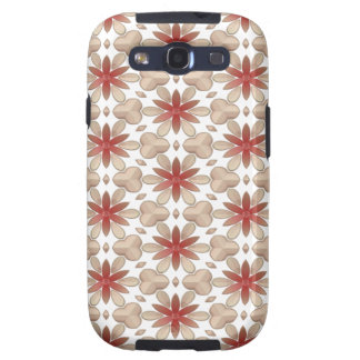 Floral Decoration. Floral Fabric Texture Pattern Galaxy S3 Cases