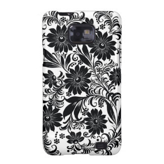 Floral Decorative Art Galaxy SII Case