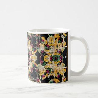 Floral Decorative Basic White Mug