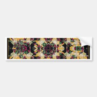 Floral Decorative Bumper Stickers