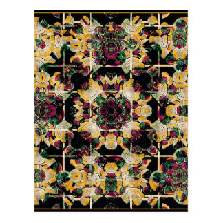 Floral Decorative Postcard