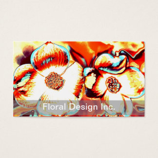 Floral Design Business Cards