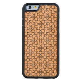 Floral Design Wood iPhone 6 Case
