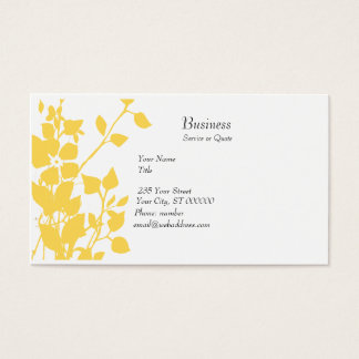 Floral Extravaganza Business Card
