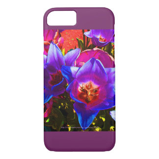 Floral Fantasy iPhone 7 Case Plum Accents