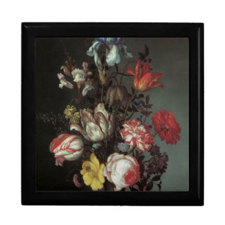 Floral Fine Art with Roses Tulips Gift Box