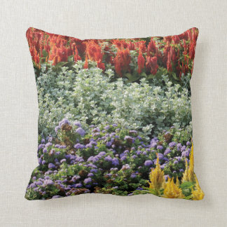 Floral Garden Throw Cushion 41 cm x 41 cm