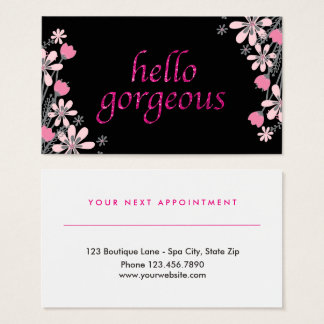 Floral Gorgeous | Beauty Salon Appointment Pink
