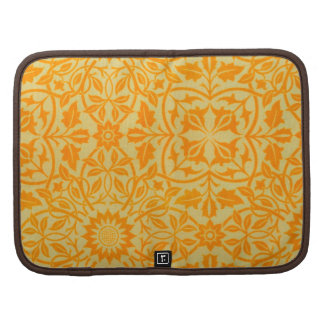 Floral in Orange and Gold Organizers
