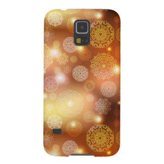Floral luxury mandala pattern galaxy s5 case