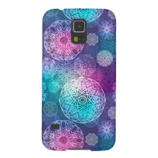 Floral luxury mandala pattern galaxy s5 cases
