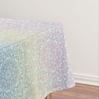 Floral luxury mandala pattern tablecloth