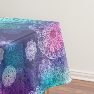 Floral luxury mandala pattern tablecloth