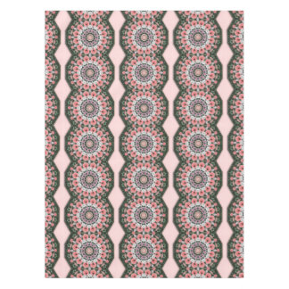 Floral mandala-style, Tulips Tablecloth
