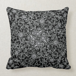 Floral Mirrored Swirls | Beautiful | You Customise Cushion