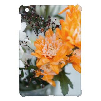 Floral Orange Glossy iPad Mini Case