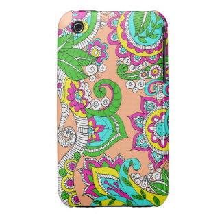 Floral Paisley iPhone 3 Case