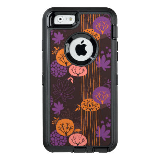 Floral pattern 2 2 OtterBox defender iPhone case