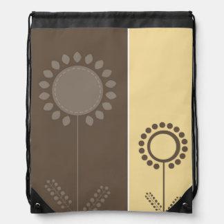 Floral Pattern Trendy Bag